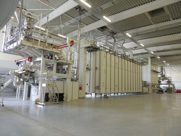 Száraztészta gyártás technológiai fejlesztés Európai Uniós Projekt 2015