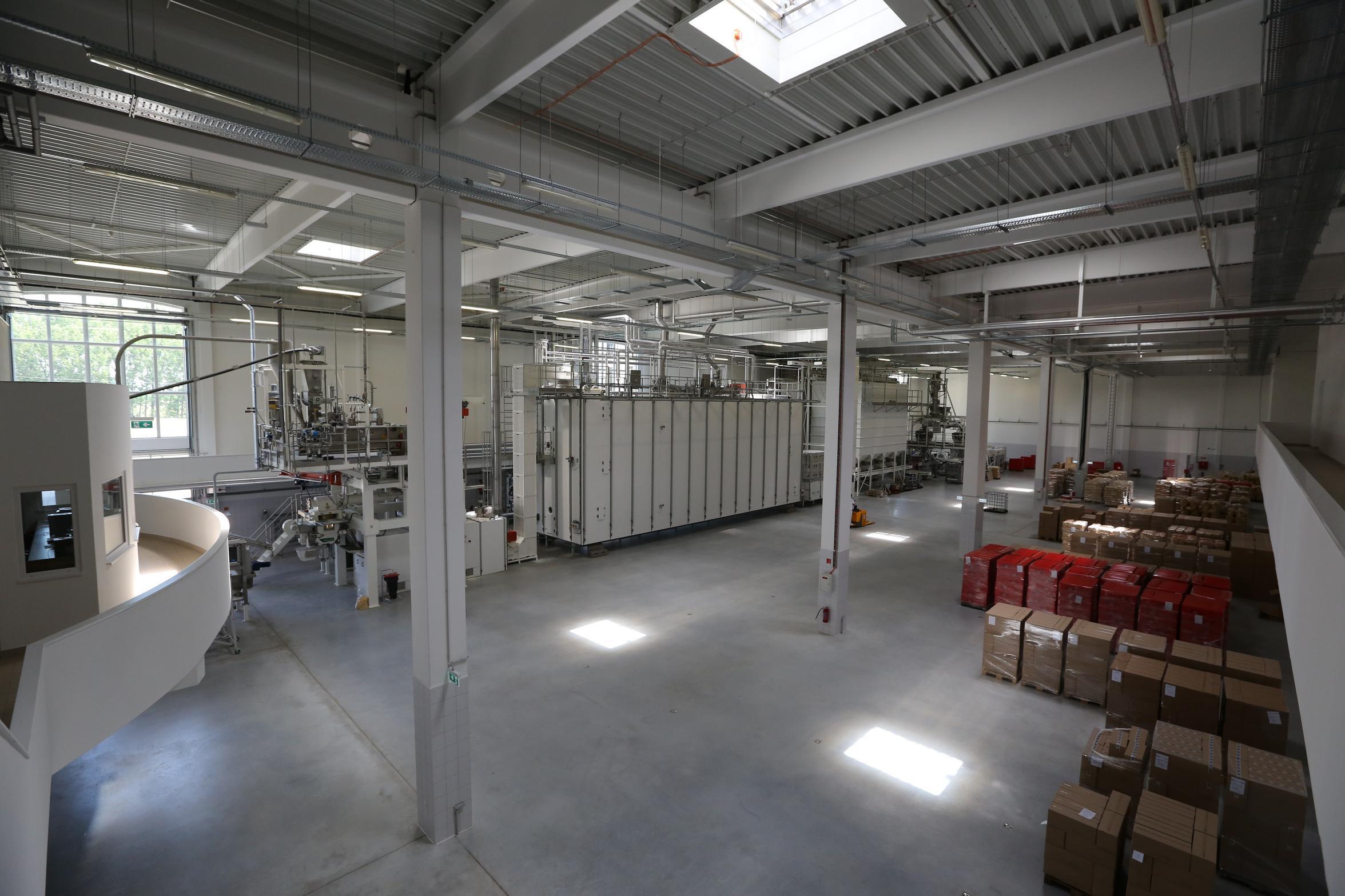 Tésztagyártó gépsor beszerzés a Balogh Tészta Zrt.-nél